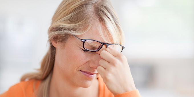 Glaukoma simptomy