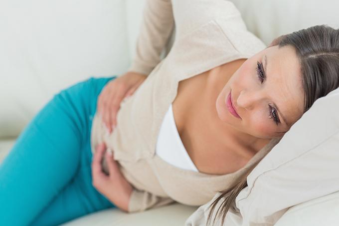 Ovarian cyst symptoms