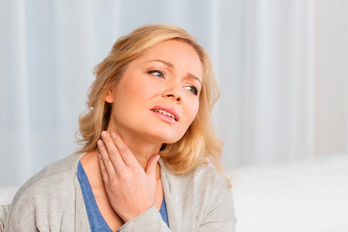 Thyroid cancer symptoms