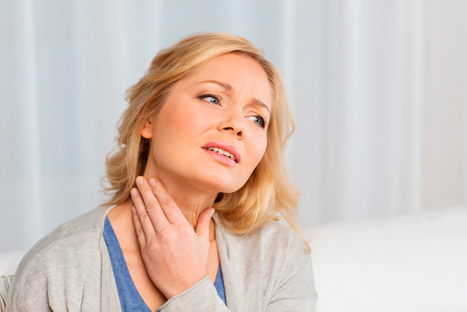 Rak shchitovidnoy zhelezy simptomy