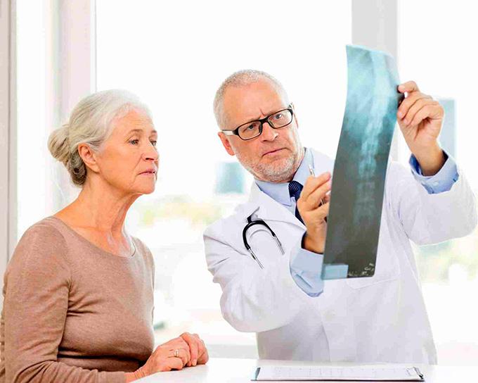 Bechterew's disease diagnostics