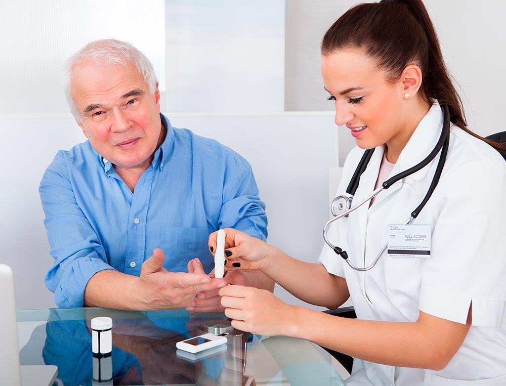 Эндокринолог назначил при сахарном диабете