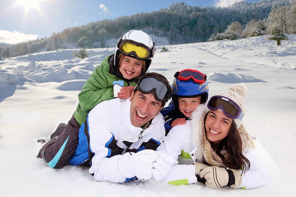 عطلات الشتاء في الخارج مع فوائد صحية