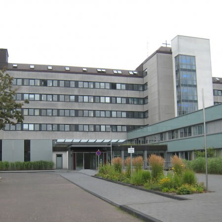 Alfried Krupp Hospital in Essen-Steele