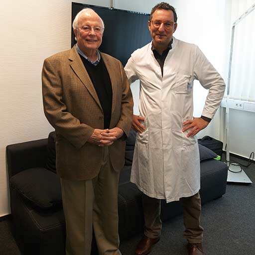 البروفيسور الدكتور في الطب سامر عز الدين، مستشفى جامعة سارلاند هومبورغ، نوفمبر 2018