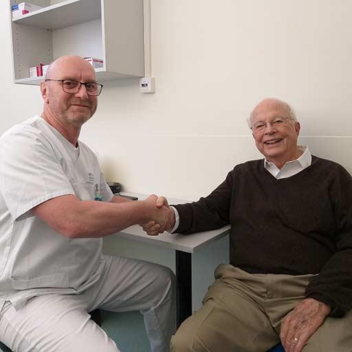 الدكتور وينكلير، مستشفى جامعة سارلاند هومبورغ، نوفمبر 2018
