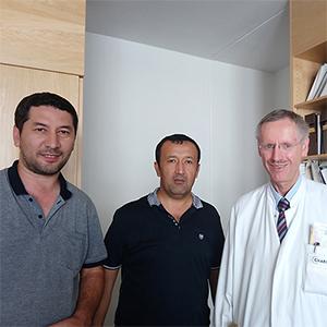 Профессор, Доктор медицины Вальтер Зидек, Университетская клиника Шарите, Берлин, Июль 2017