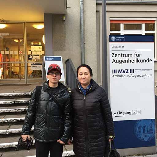 Университетская клиника Кёльн, Ноябрь 2017