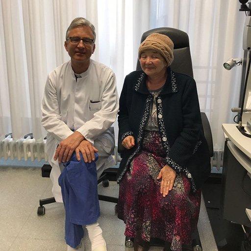 Профессор, Доктор медицины Франк Г. Хольц, Университетская клиника Бонн, Сентябрь 2017