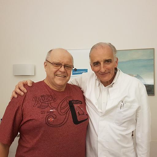 دكتور الطب رالف شميت، مستشفى غومرسباخ أوبربرغ، نوفمبر 2017
