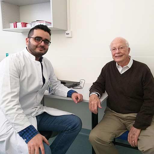 الدكتور في الطب ميشيل الغزال، مستشفى جامعة سارلاند هومبورغ، نوفمبر 2018