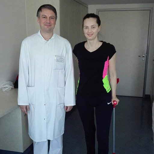 Доктор медицины Оливер Хаушильд, Парк-клиника Вайсензее, Март 2017