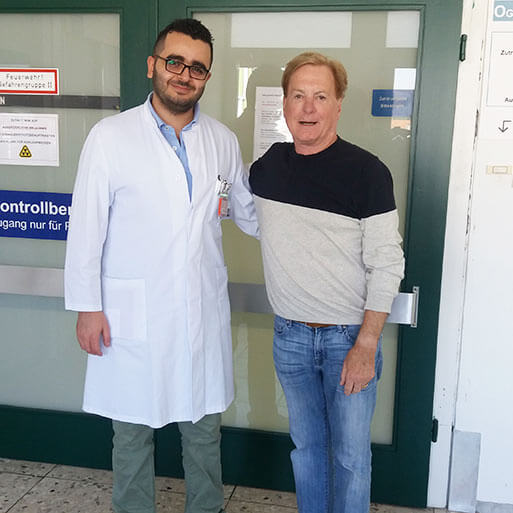 Доктор медицины Мишель Аль Газаль, Университетская клиника Саарланда Хомбург, Октябрь 2018