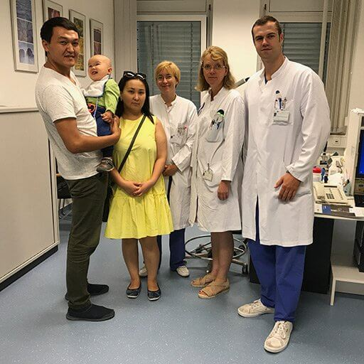 Доктор Петрак, Университетская клиника Бонн, Август 2017